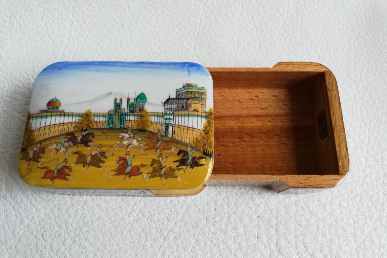 Boite bijoux Miniature marqueterie-Galerie Shirazi-Pau-N