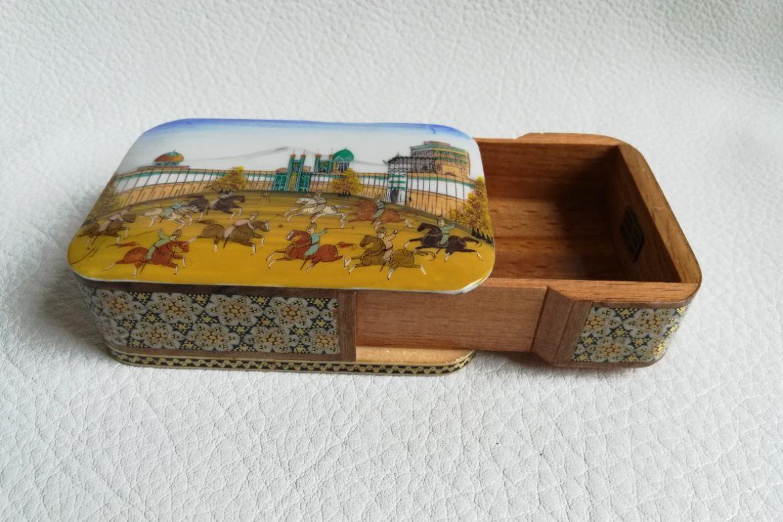 Boite bijoux Miniature marqueterie-Galerie Shirazi-Pau-N1