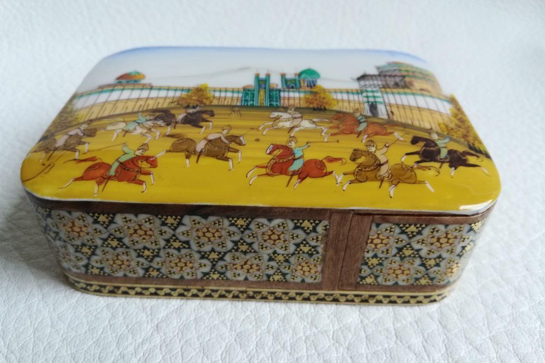Boite bijoux Miniature marqueterie-Galerie Shirazi-Pau-N2