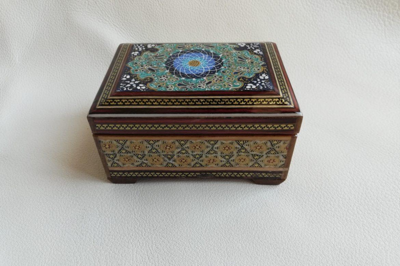 Boite marqueterie miniature - galerie Shirazi - Pau - 25-1