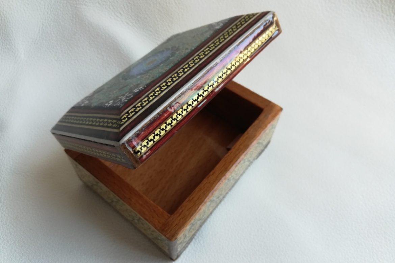 Boite marqueterie miniature - galerie Shirazi - Pau - 25