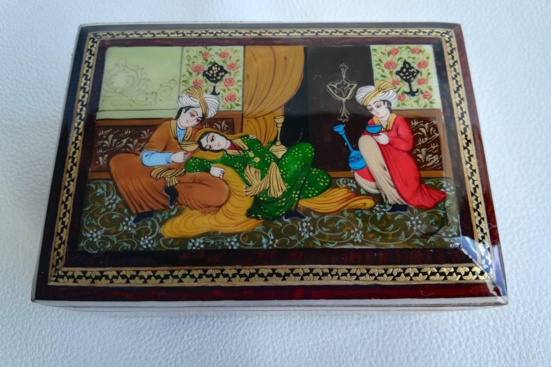 Boite marqueterie miniature - galerie Shirazi - Pau - 5-1