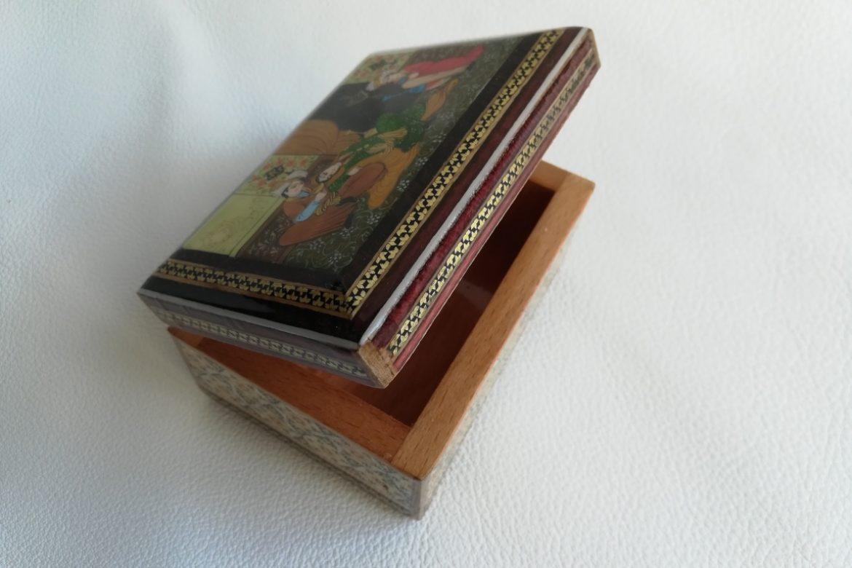 Boite marqueterie miniature - galerie Shirazi - Pau - 5