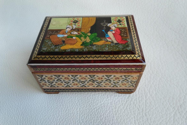 Boite marqueterie miniature - galerie Shirazi - Pau - 5-2