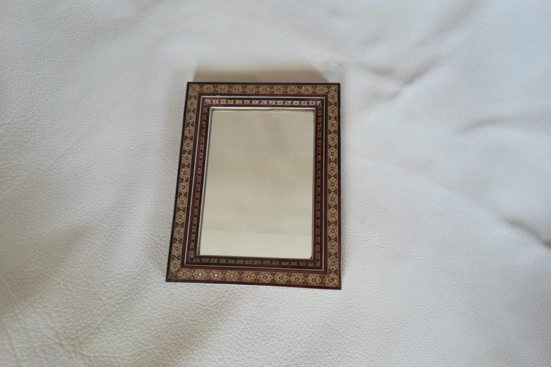Cadre Miroir marqueterie - Galerie Shirazi - Pau 21
