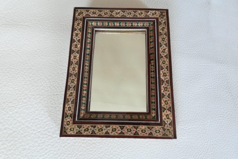 Cadre Miroir marqueterie - Galerie Shirazi - Pau 4