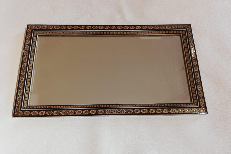 Cadre Miroir marqueterie - Galerie Shirazi - Pau 9A