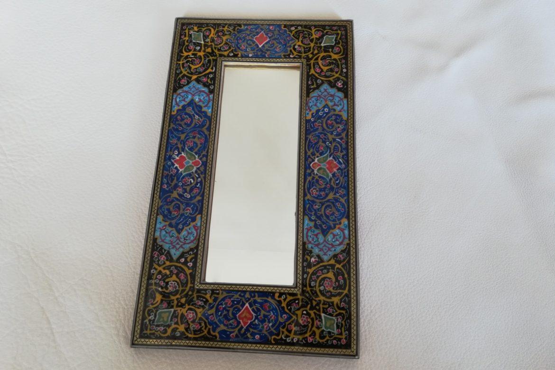 Cadre Miroir marqueterie peinture - Galerie Shirazi - Pau 22