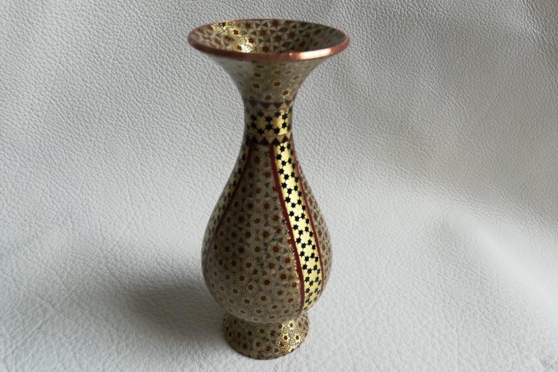 Vase cuivre émaillé-Galerie Shirazi-Pau-O2