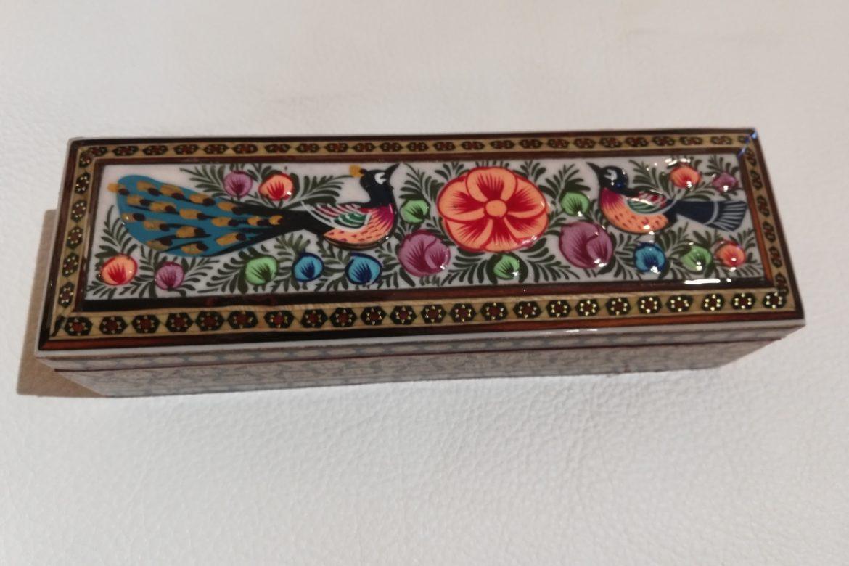 Boite plumier Miniature marqueterie-Galerie Shirazi-Pau- S2-25