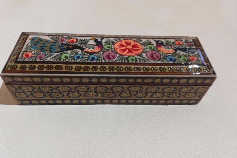 Boite plumier Miniature marqueterie-Galerie Shirazi-Pau- S2-25b
