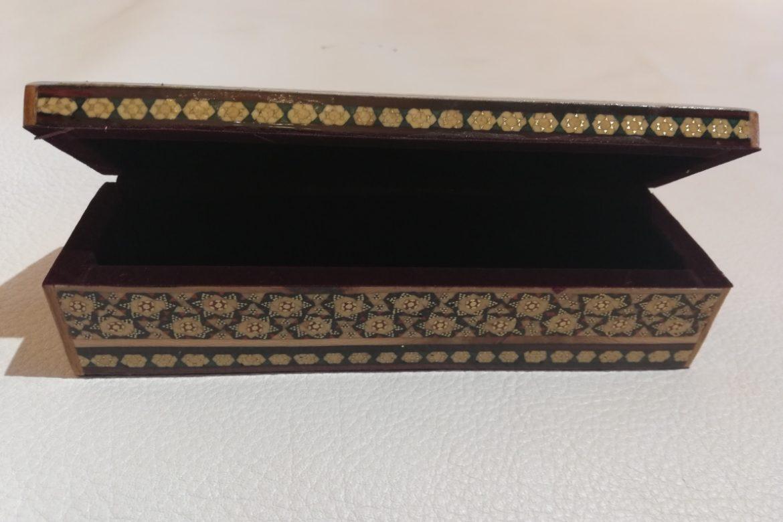 Boite plumier marqueterie-Galerie Shirazi-Pau- S2-24b