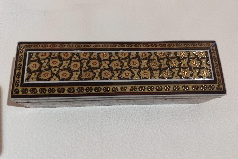 Boite plumier marqueterie-Galerie Shirazi-Pau- S2-24c