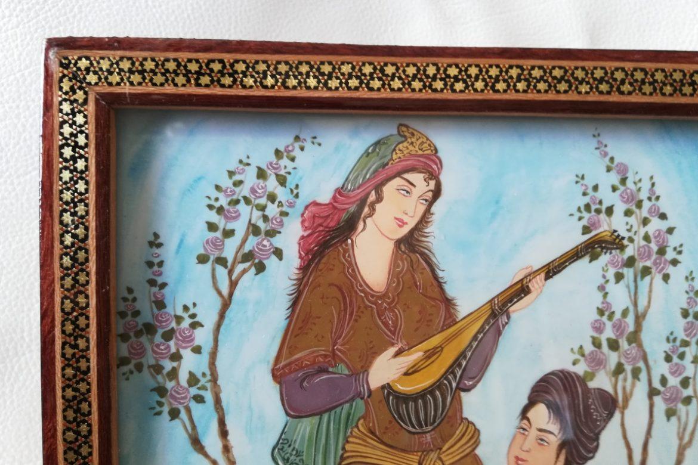 Cadre miniature-Galerie Shirazi-Pau-11-1a