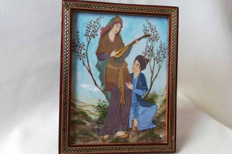Cadre miniature-Galerie Shirazi-Pau-11-1b