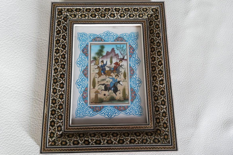 Cadre miniature-Galerie Shirazi-Pau-J10