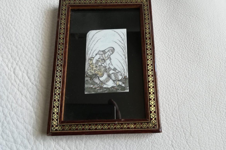Cadre miniature-Galerie Shirazi-Pau-J6