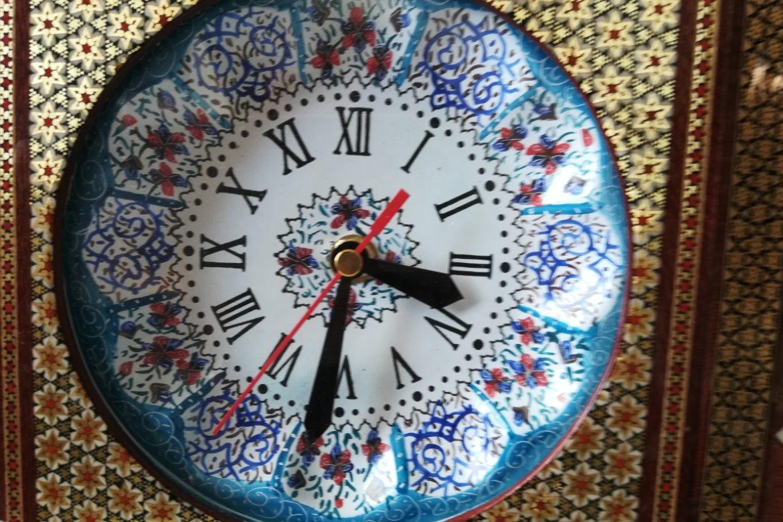 Horloge marqueterie-Galerie Shirazi-Pau-10b
