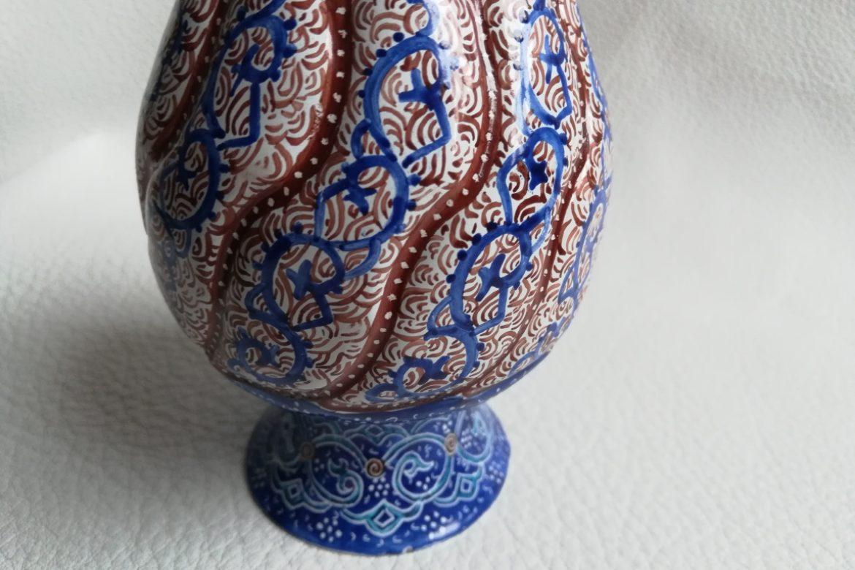 Vase cuivre émaillé-Galerie Shirazi-Pau-S2-34