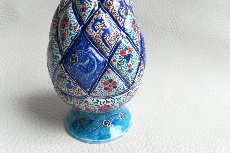 Vase cuivre émaillé-Galerie Shirazi-Pau-S2-37