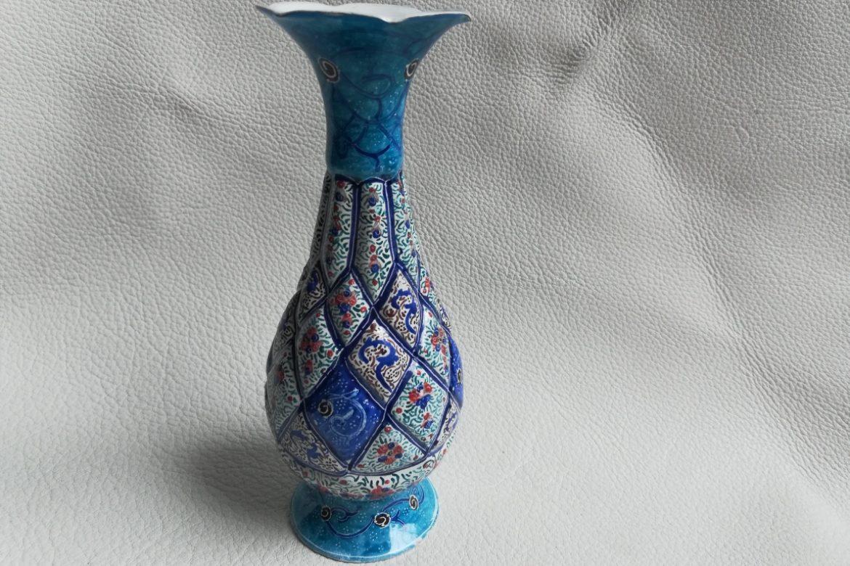 Vase cuivre émaillé-Galerie Shirazi-Pau-S2-37a