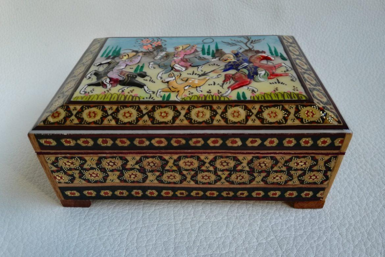 Boite marqueterie Miniatures-Galerie Shirazi-Pau- 010-1