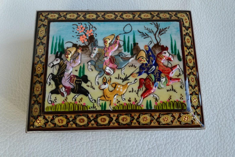 Boite marqueterie Miniatures-Galerie Shirazi-Pau- 010-1.1