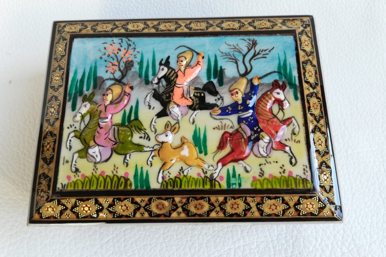 Boite marqueterie Miniatures-Galerie Shirazi-Pau- 010-3.1