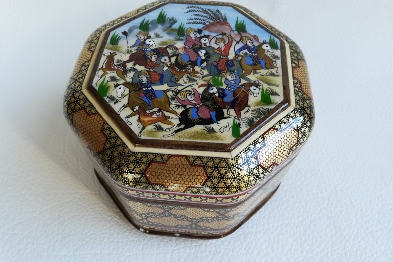 Boite marqueterie Miniatures-Galerie Shirazi-Pau- 019-S-1