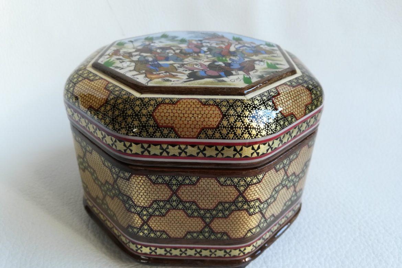 Boite marqueterie Miniatures-Galerie Shirazi-Pau- 019-S