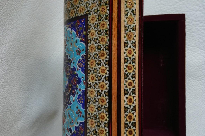 Boite marqueterie peinte-Galerie Shirazi-Pau- 013-L.2