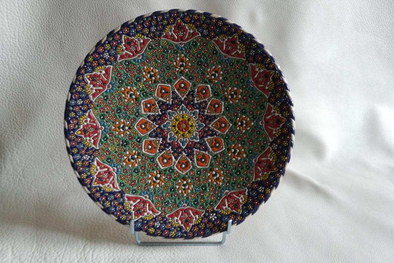 Assiette perse céramique_Galerie Shirazi_Pau.B3SB