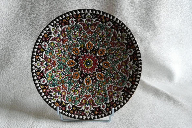 Assiette perse céramique_Galerie Shirazi_Pau.B4SA