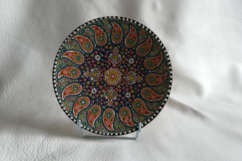 Assiette perse céramique_Galerie Shirazi_Pau.B4SB
