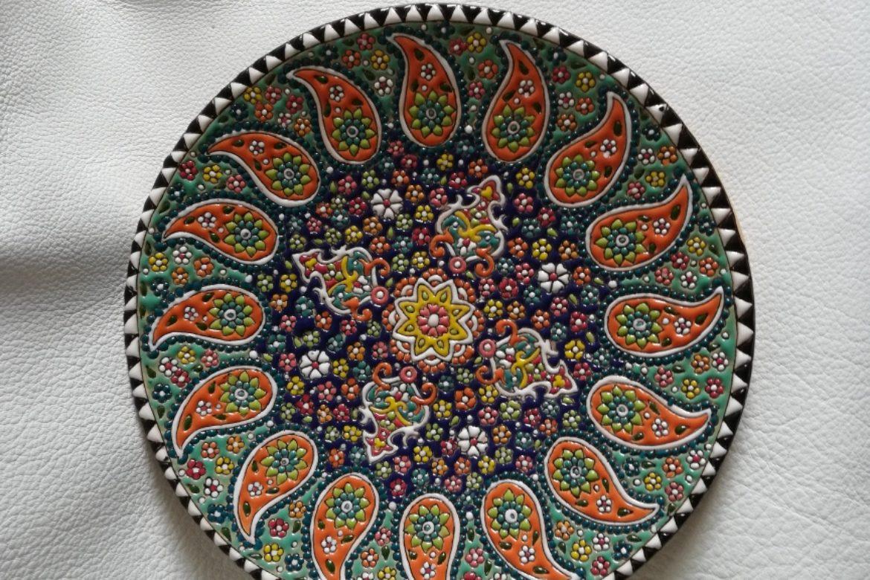 Assiette perse céramique_Galerie Shirazi_Pau.B4SB.a
