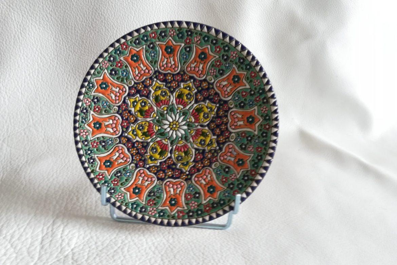 Assiette perse céramique_Galerie Shirazi_Pau.B5SB