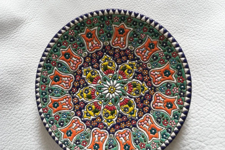 Assiette perse céramique_Galerie Shirazi_Pau.B5SB.a