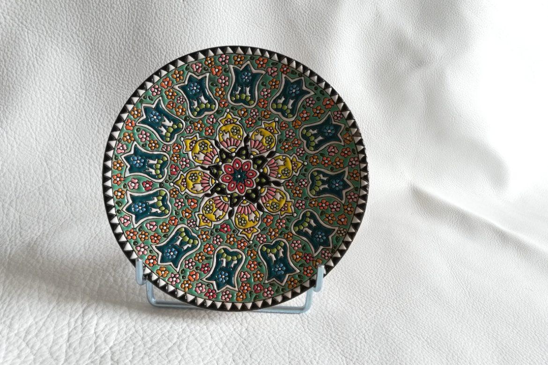 Assiette perse céramique_Galerie Shirazi_Pau.B5SC