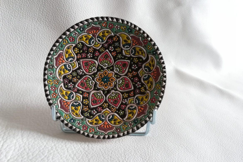 Assiette perse céramique_Galerie Shirazi_Pau.B6SA