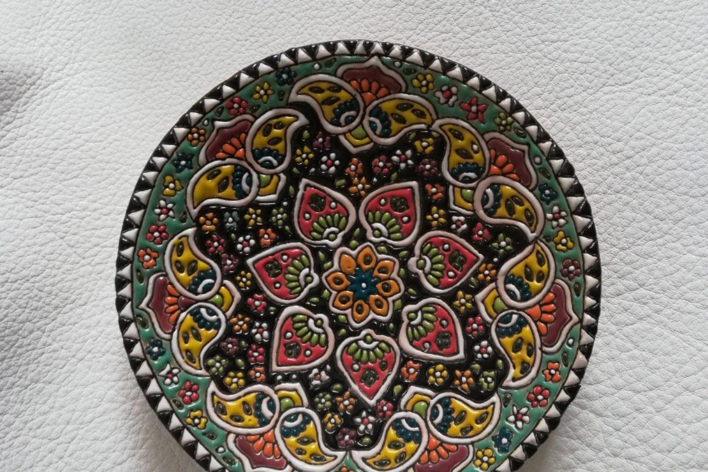 Assiette perse céramique_Galerie Shirazi_Pau.B6SA.a
