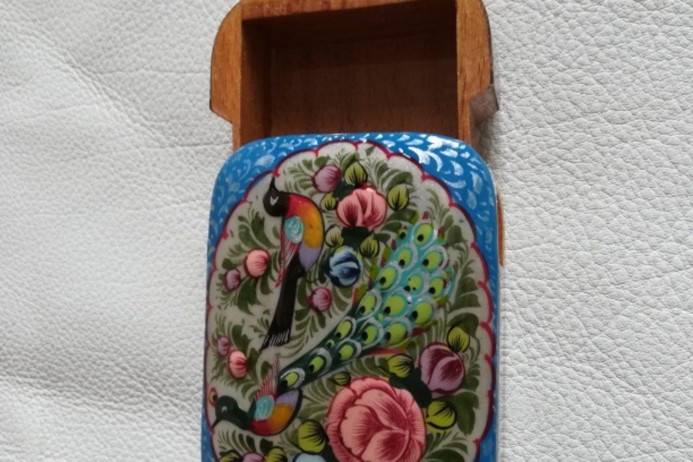 Boite marqueterie miniature persane peinte_Galerie Shirazi_Pau_A9SD.b