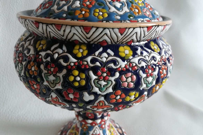 Bonbonnière perse céramique_Galerie Shirazi_Pau_B26SA.a