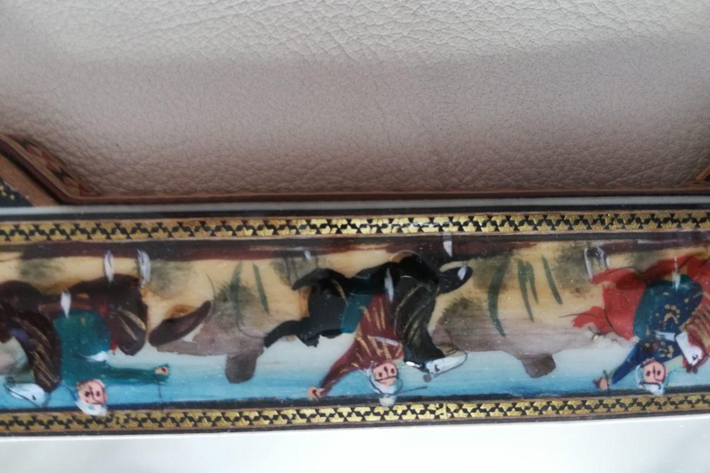 Cadre miroir marqueterie Miniatures_Galerie Shirazi_Pau_P1-14.b