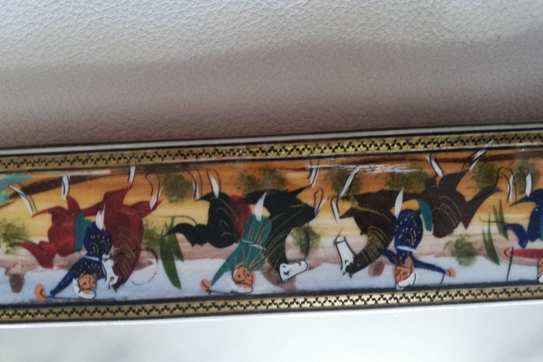 Cadre miroir marqueterie Miniatures_Galerie Shirazi_Pau_P1-15.b
