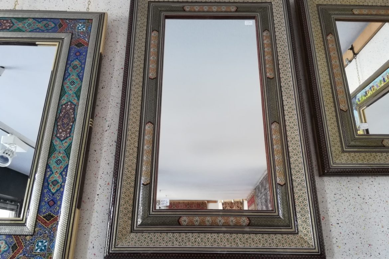 Cadre miroir marqueterie _Galerie Shirazi_Pau_A29S