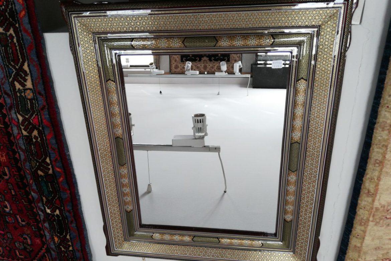 Cadre miroir marqueterie _Galerie Shirazi_Pau_A31S