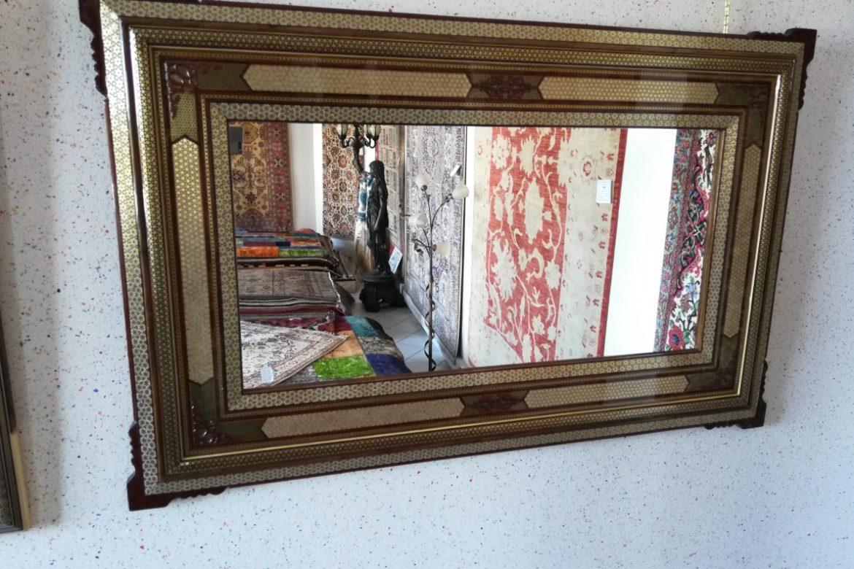 Cadre miroir marqueterie _Galerie Shirazi_Pau_A33SA