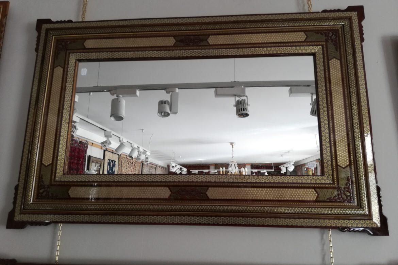 Cadre miroir marqueterie _Galerie Shirazi_Pau_A33SB