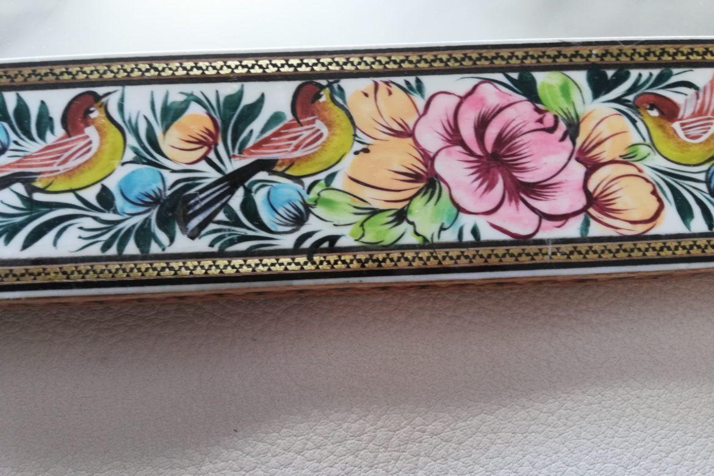 Cadre miroir marqueterie peinte _Galerie Shirazi_Pau_P1-17.b