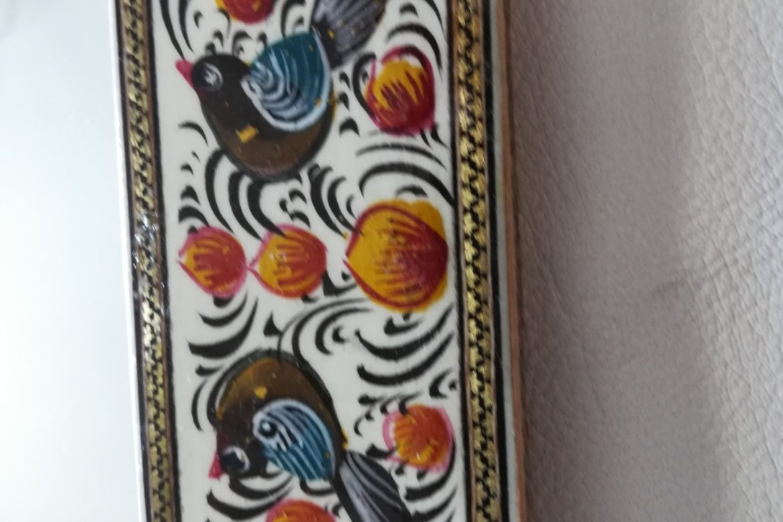 Cadre miroir marqueterie peinte _Galerie Shirazi_Pau_P1-9.b